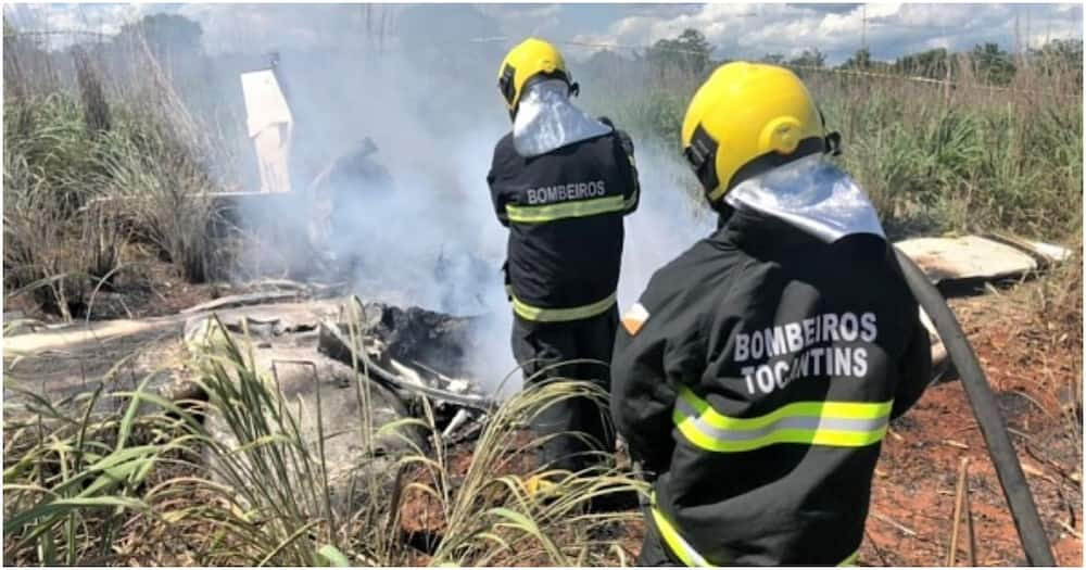 Brazilian club president, 4 players die in plane crash on way to cup tie