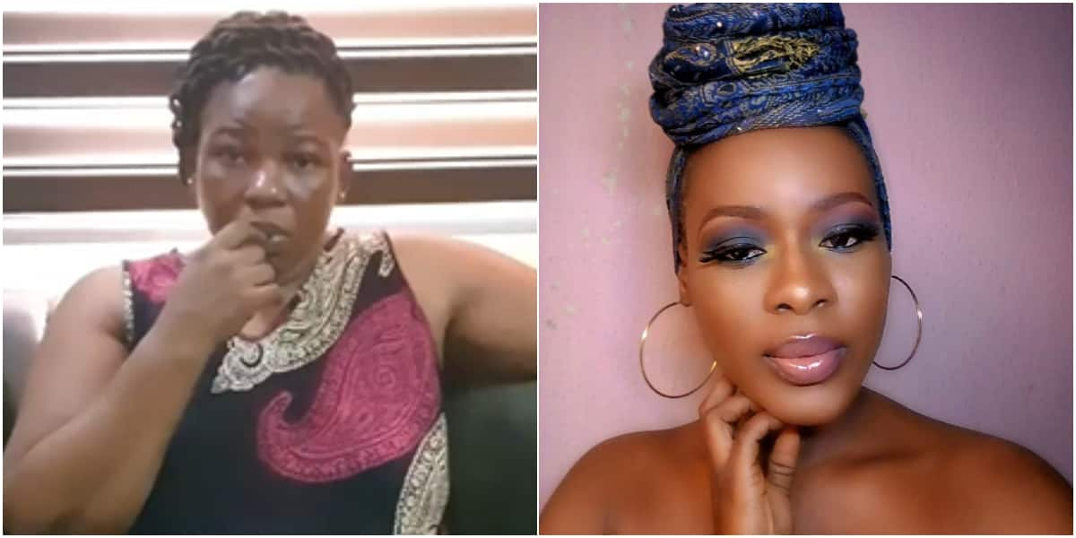 Actress Ada Ameh Weeps Bitterly as She Loses Only Child (Photo)