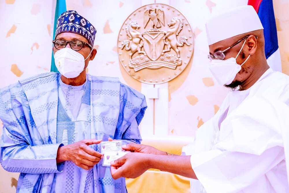 NIN-SIM: Haɗa Layin Waya Da NIN Zai Taimaka Mana Wajen Magance Matsalar Tsaro, Buhari