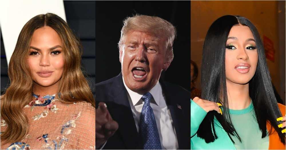 Celebrities react to Trump impeachment