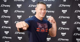 John Cena was born and raised in Massachusetts - Getty Images.