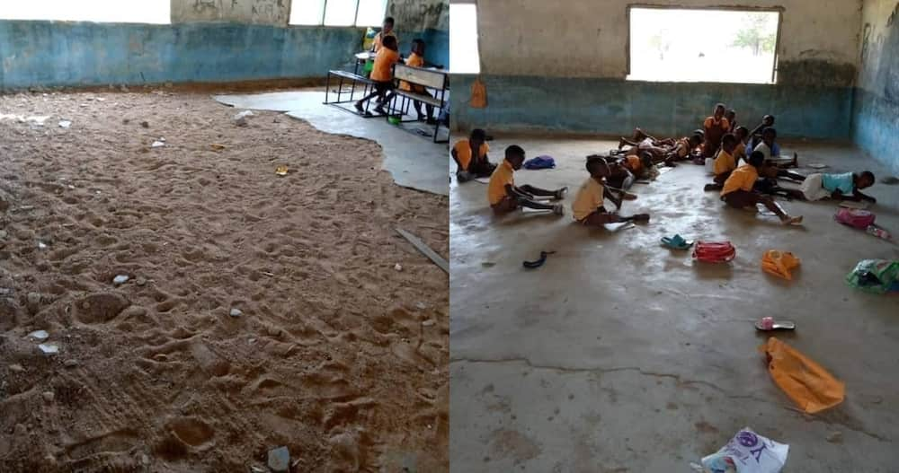 Photos of school in Upper East with no furniture