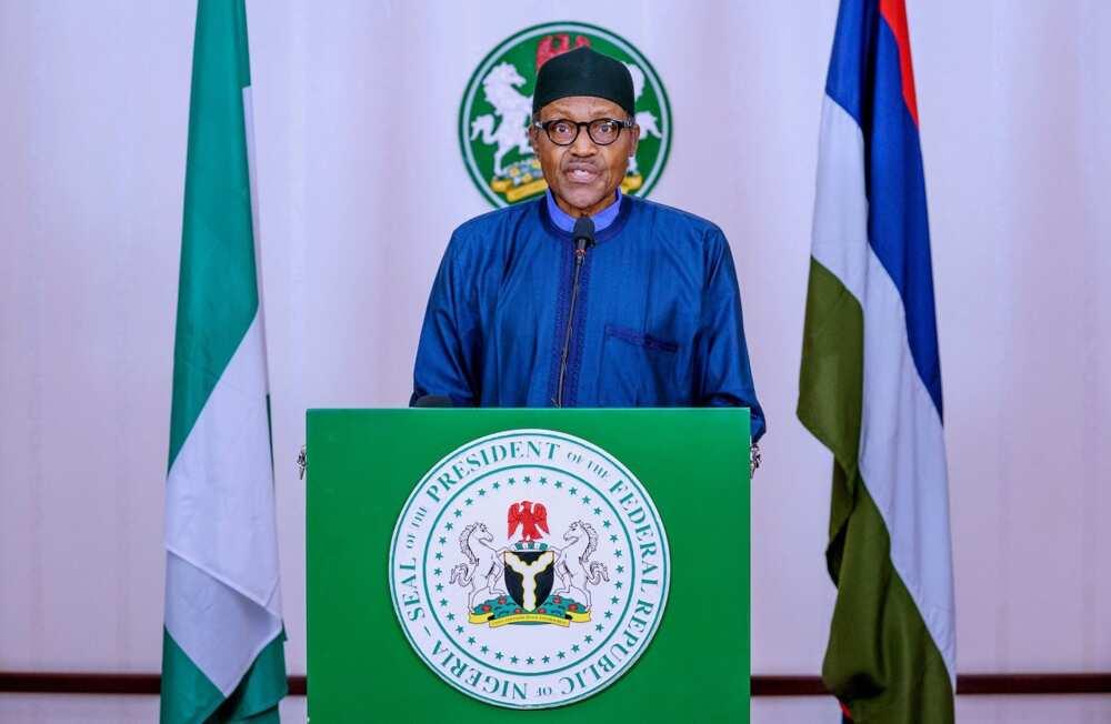 Breaking: Some Nigerians mistook our disbandment of SARS as weakness - Buhari