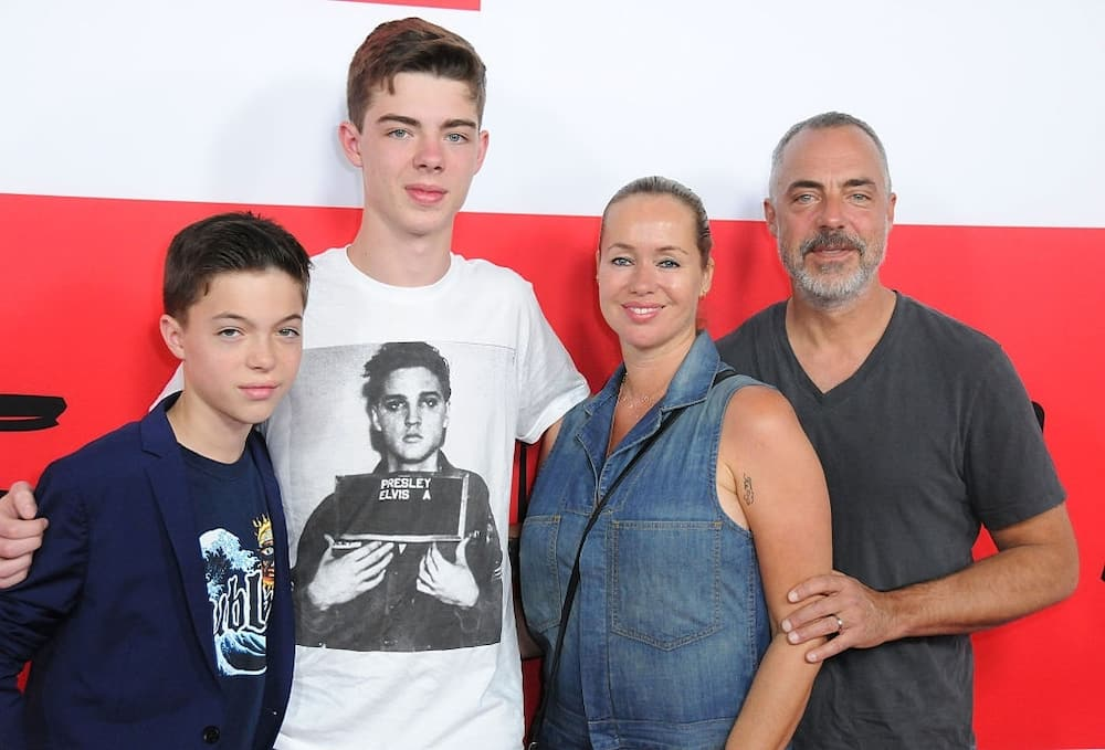 Titus Welliver family