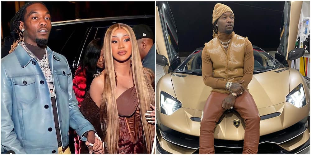 Cardi B and her husband Offset