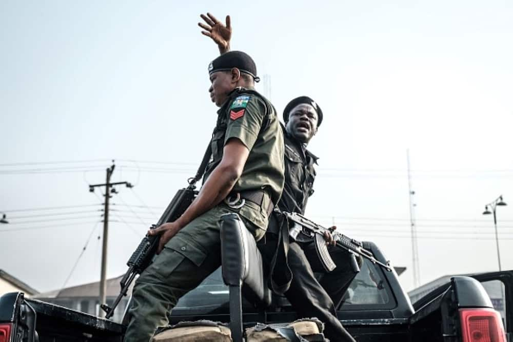 Nigerian policemen