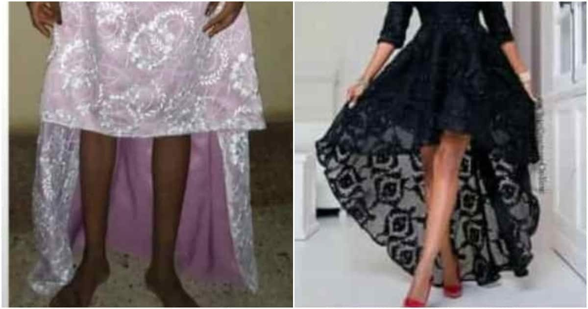 Hilarious reactions to photos of dress a lady ordered for versus what she got