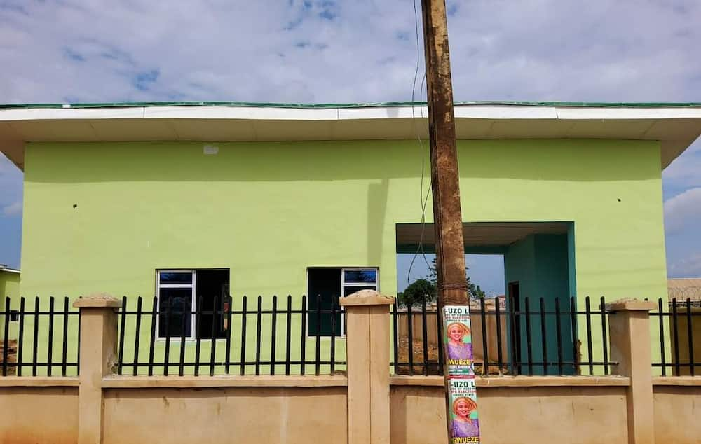 Governor Ugwuanyi builds Primary Health Care Centre in Enugu