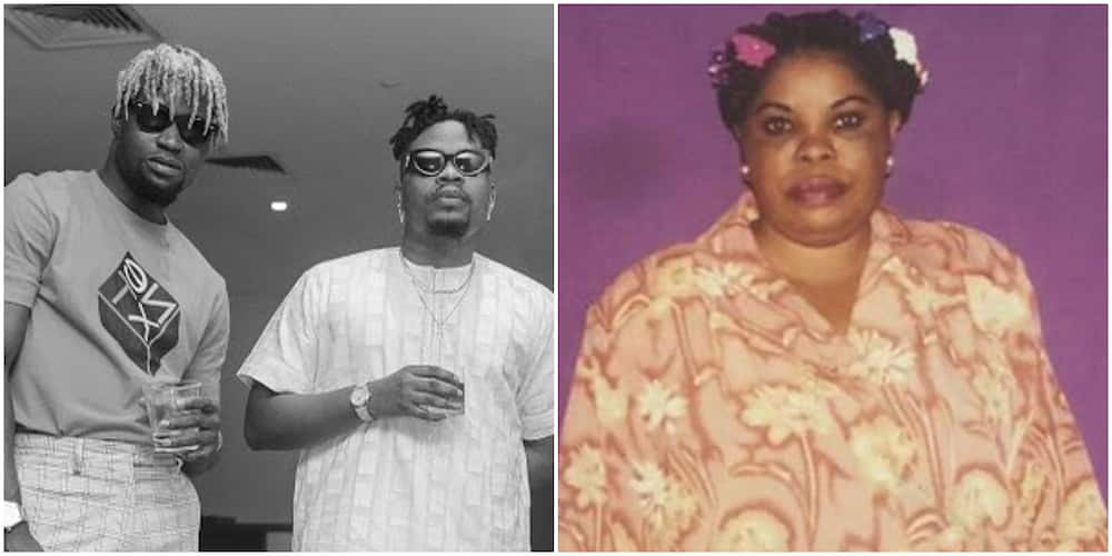 Singer Olamide's brother