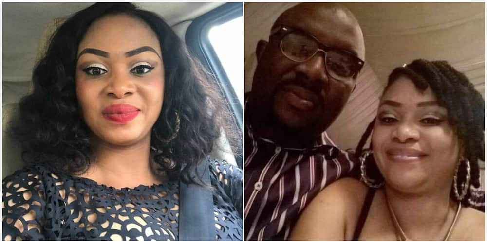 Nigerian woman and her late husband