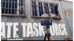EndSARS: Yan sanda sun damke dan jaridar Legit a LekkiToll Gate