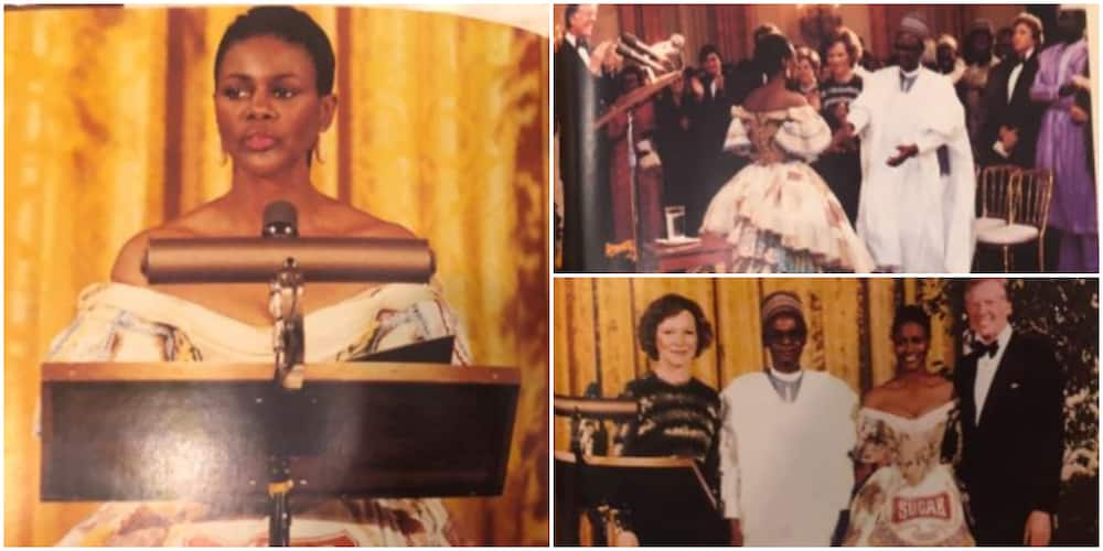 Throwback photos of late Cicely Tyson with former Nigerian president Shehu Shagari