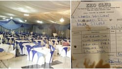 Reactions as Nigerian man shares old receipt of a hall rented in Lagos for N500 in 1982, now the place is N2m