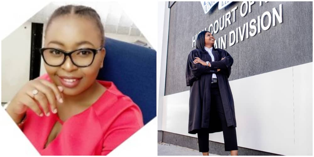 Female Lecturer Who Was Trolled for Not Dressing Well Wows Many With New photo as She Wins Big in Law