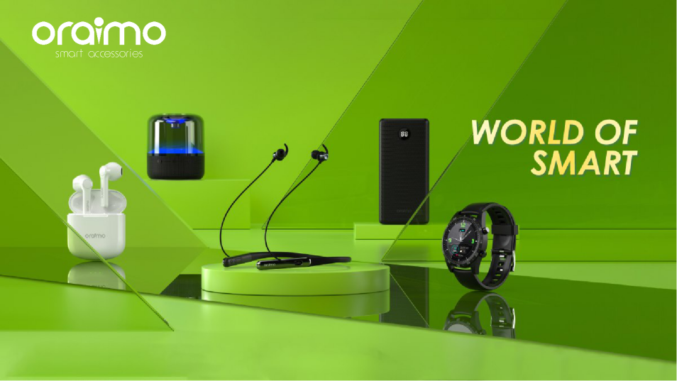 oraimo the Trail Blazer is Not Your Regular Smart Accessory Brand!