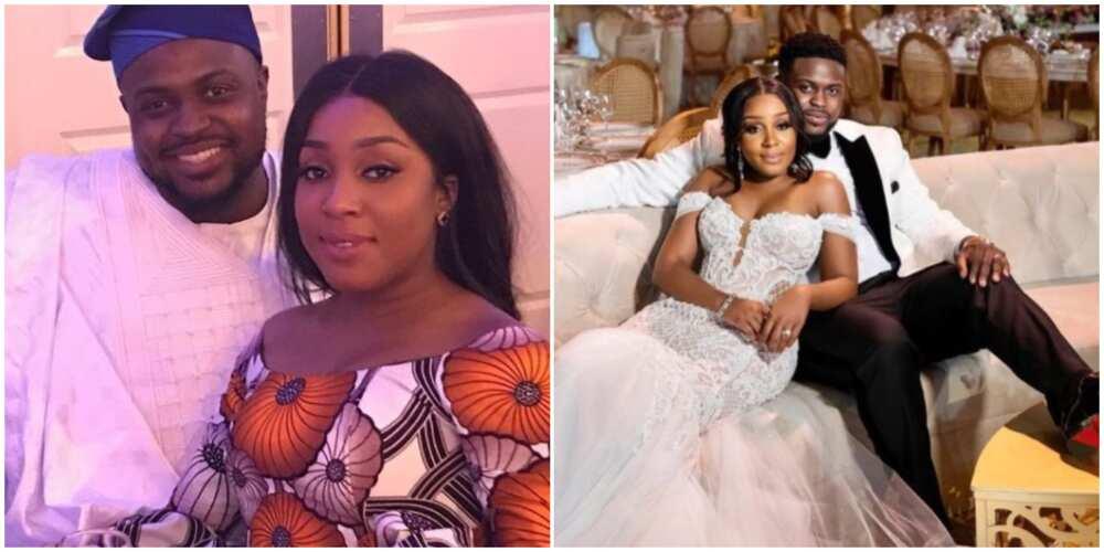 Davido's brother Adewale Adeleke celebrates first wedding anniversary with wife