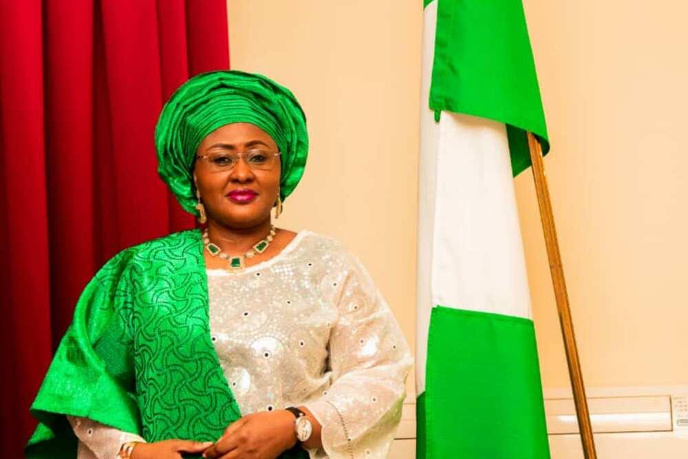 Aisha Buhari finally returns to Nigeria after six months in Dubai