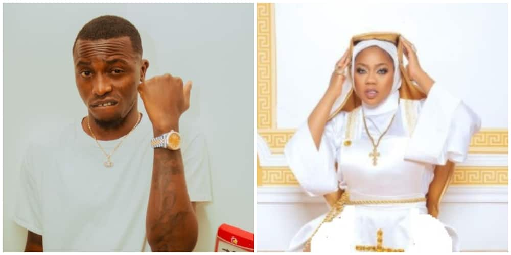 Your outfit is nonsense and total blasphemy - Davido's former P.A Aloma tells Toyin Abraham