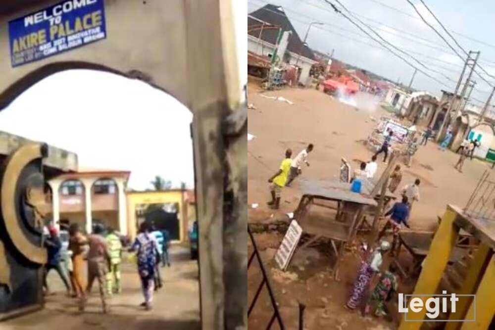 Breaking: Several dead as hoodlums engage soldiers in gun duel in Osun