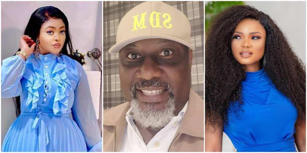 Actress Omoborty, Dino Melaye, and Iyabo Ojo