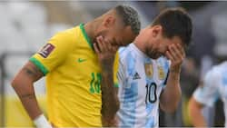 PSG stars Messi and Neymar spotted laughing as health officials disrupt Brazil vs Argentina cracker