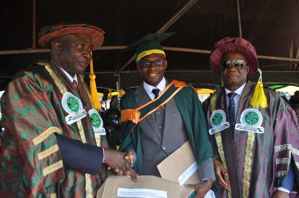 Okpara University students