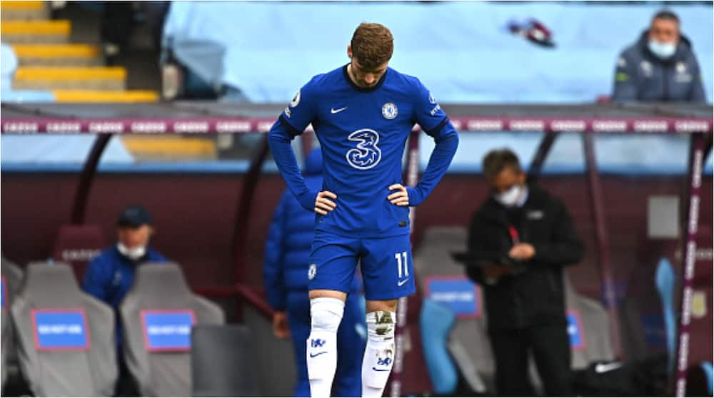 Drama As Chelsea Striker Timo Werner Spotted Chasing Lost Dog for Over a Mile and Missed Out