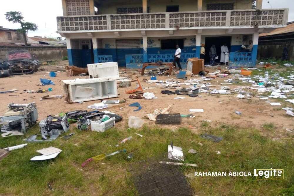 EndSARS: Victims of hoodlums' attacks, looting in Iseyin speak to Legit.ng