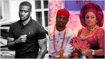 Peter Okoye and wife celebrate 5th wedding anniversary with heart-gripping epistle (photos)