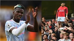 Pogba finally breaks silence on the signing of Ronaldo after Man United's controversial win over Wolves