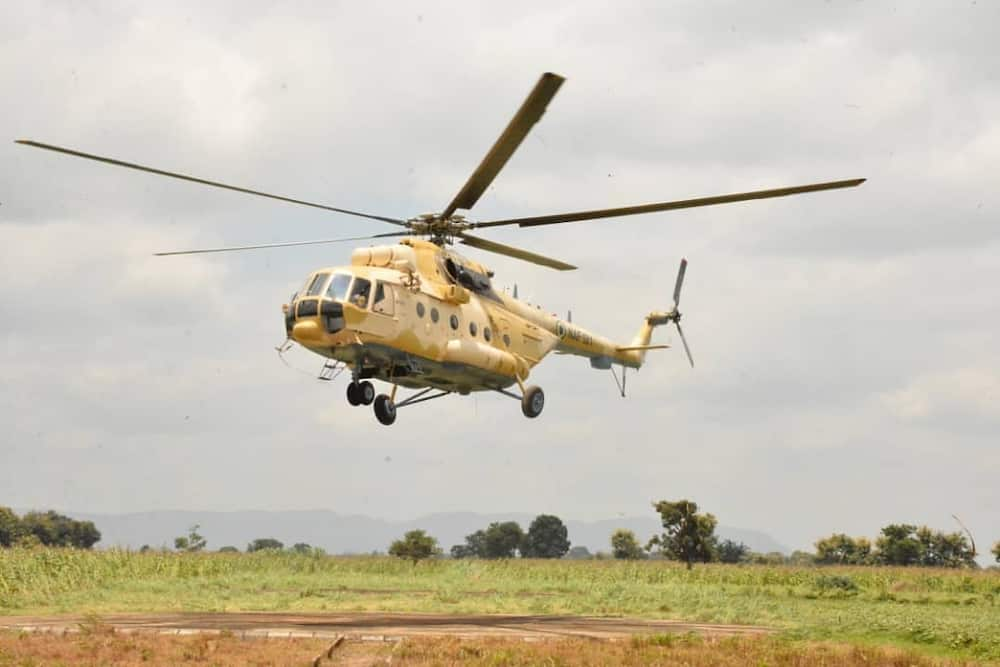 Nigerian Air Force bombs bandits in Zamfara forest
