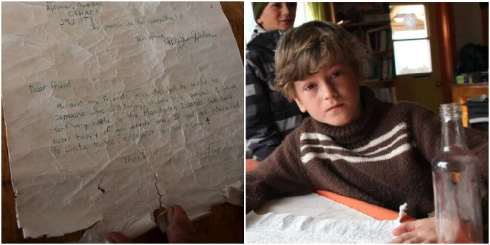 8-Year-Old Boy Finds Letter Tossed into the Ocean 25 Years Ago, Content of the 'Mystery' Letter Will Wow You