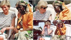 Photos of Maryam Babangida with Princess Diana in Lagos state in 1989