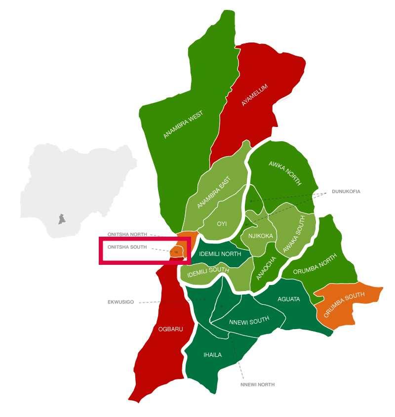 Onitsha South location