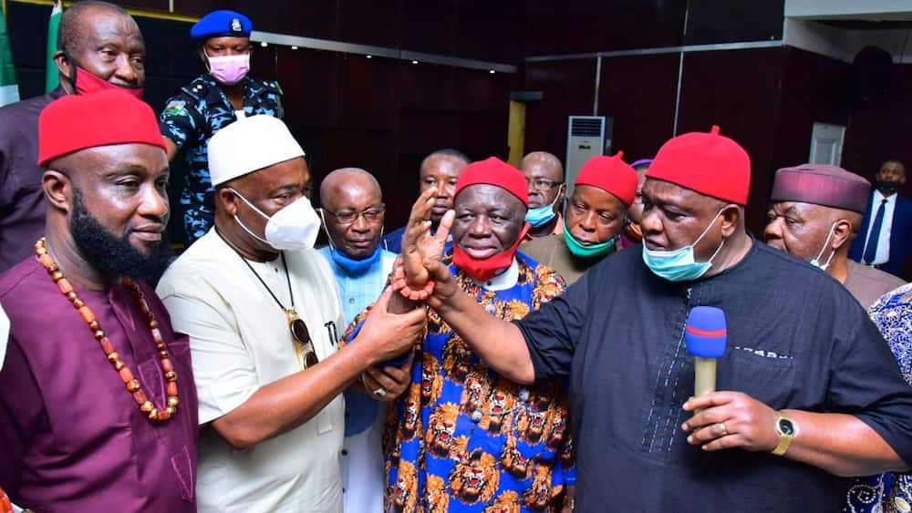 Ohanaeze Ndigbo Faction Asks Court to Restrain Obiozor from Parading Self as President