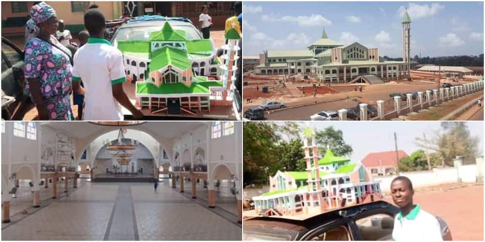 Chinemeogo Asogwa: 15-year-old boy designs cathedral prototype