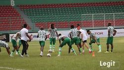 Important player finally arrives as Super Eagles camp bubbles ahead of CAR double header