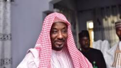 'Bani da burin zama shugaban kasa': Tsohon sarkin Kano Sanusi ya yi watsi da siyasa