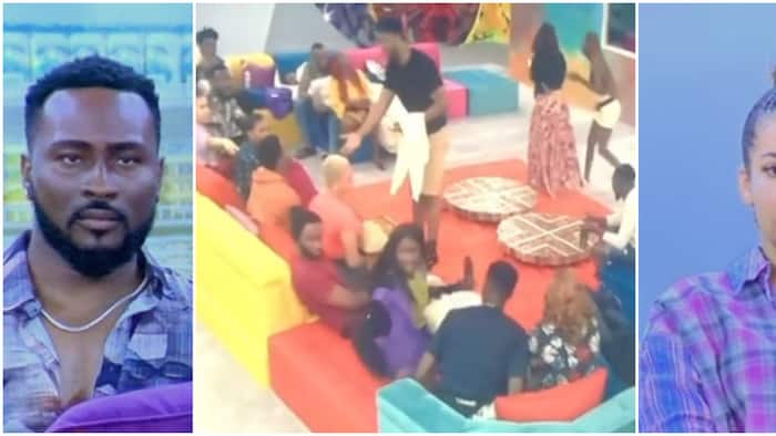 BBNaija: Housemates try to unravel wild card mystery after Big Brother gives interesting clue