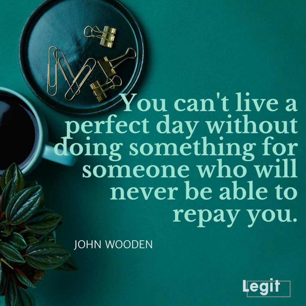 John Wooden leadership quotes