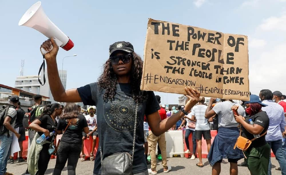 EndSARS protest: Group urges Nigerian youths to give peace a chance