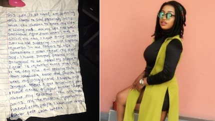 Nollywood actress rescues neighbour who penned down life threatening note to God (photos)