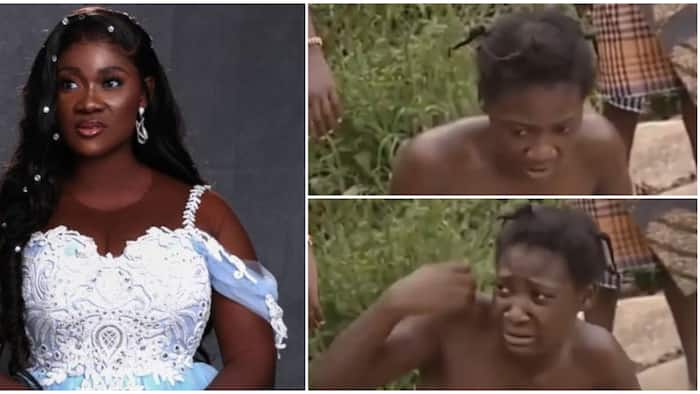 Flying boat nose: Mercy Johnson looks lean, 'not fine' in video from hustling days, thanks God for growth
