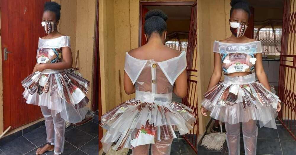 Models makes Tastic bag look stylish