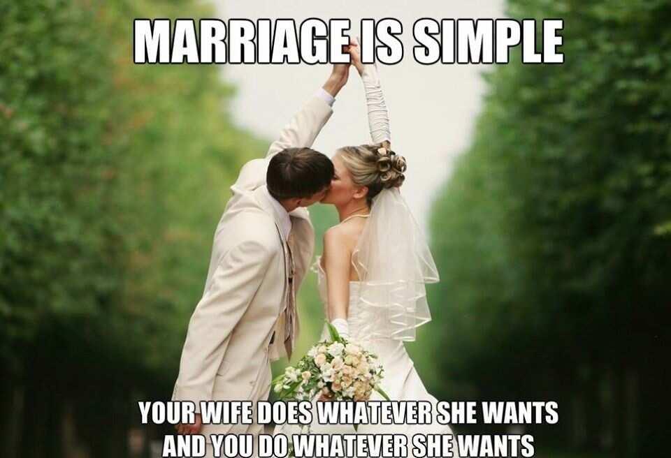 Marriage meme
