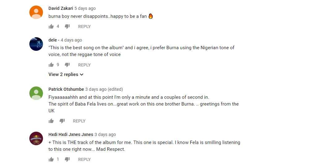 Burna Boy - Collateral Damage: audio, lyrics, reactions ▷ Legit ng