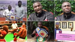 I don't have N100k in my account: Nigerian featherweight champion cries out in video, wants Buhari's help