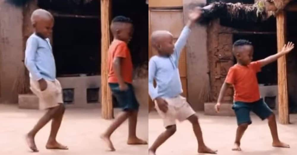 Video 2 boys dancing to Jerusalema goes viral Pls export