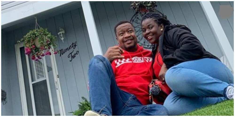 Browny Igboegwu's wife marks 10th wedding anniversary with cute family photo