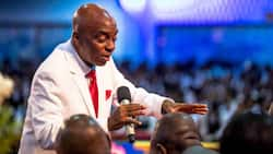Nigeria@61: Bishop Oyedepo tells members what he'll do if war breaks out in the country